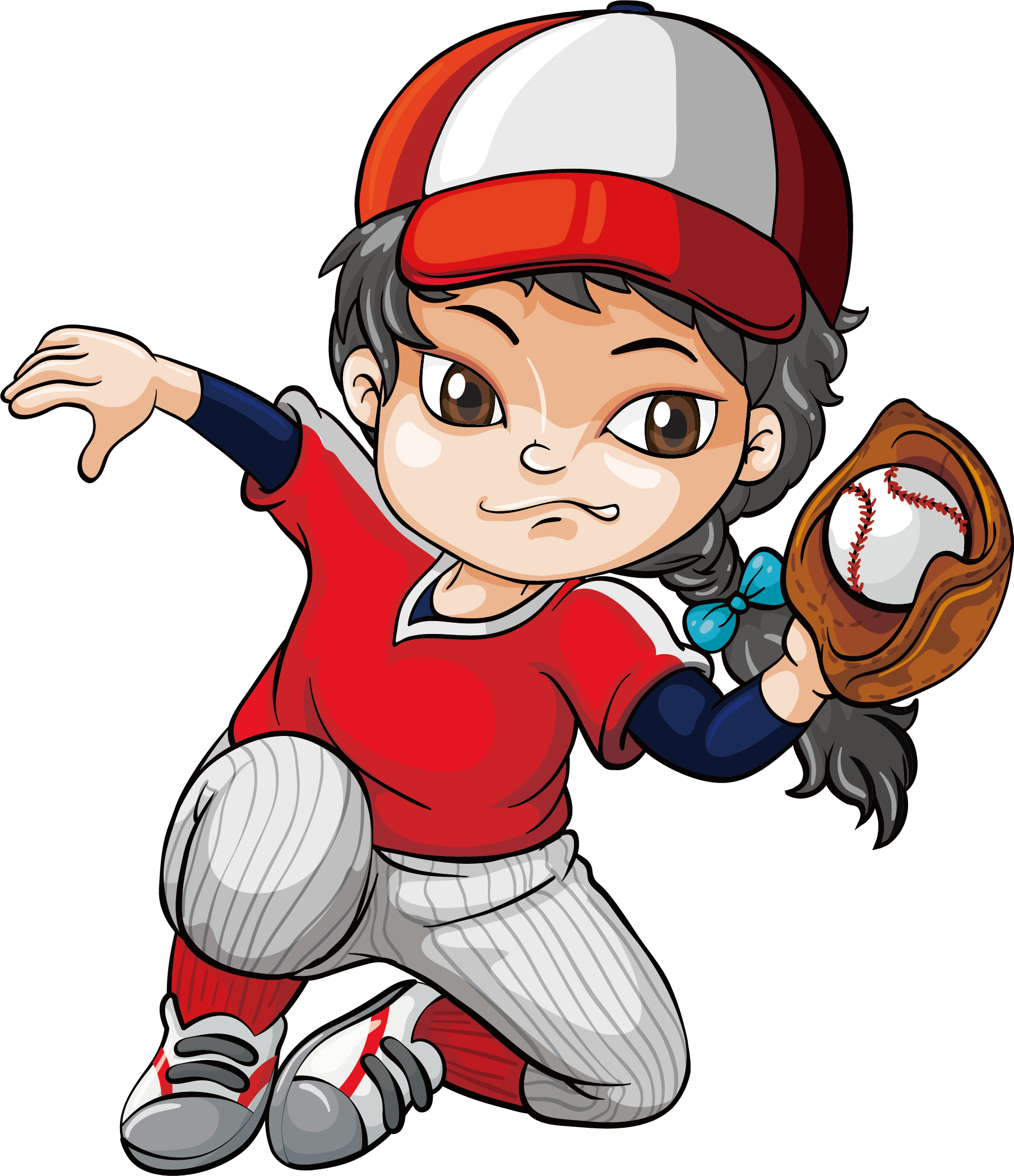 Baseball girl clipart png freeuse stock Baseball Batting Pitcher Clip art - Baseball catch 1809*2098 ... png freeuse stock