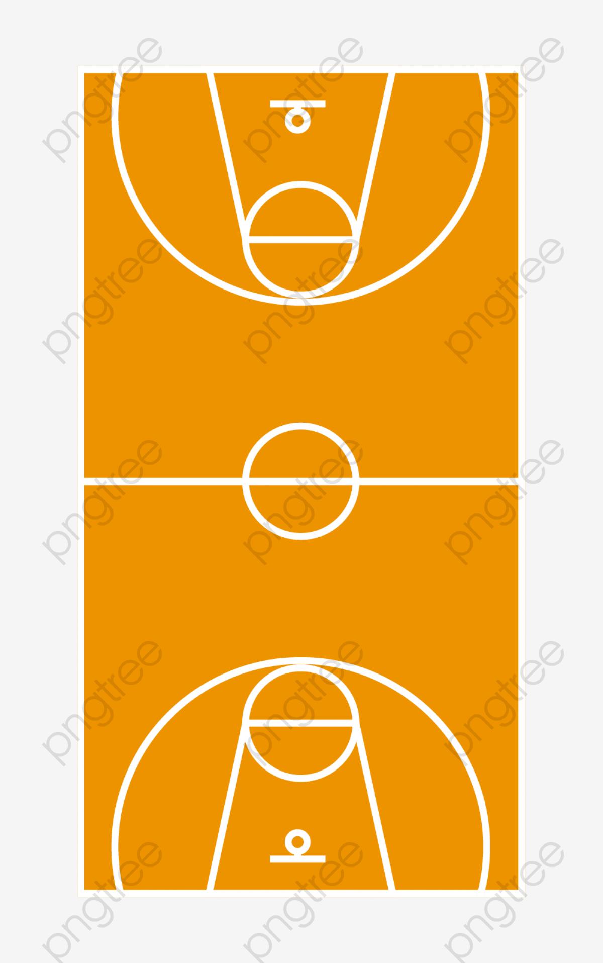 Yellow Basketball Court, Basketball Clipart, Basketball, Basketball ... clipart black and white stock