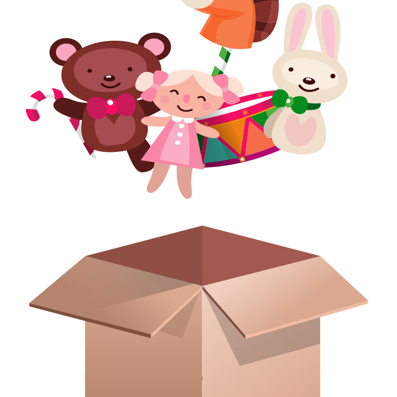 A bear in a box png clipart jpg Lovely Toy Box, Toy Box, Plush Toy Bear, Toy PNG Transparent Clipart ... jpg