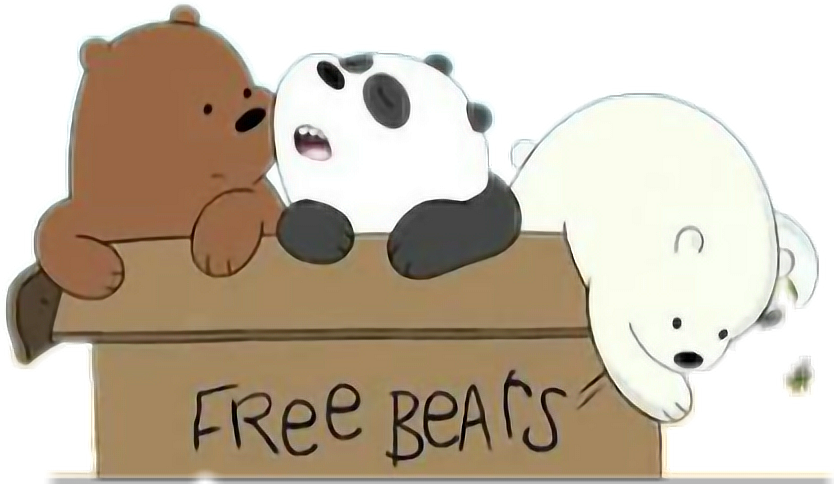 A bear in a box png clipart jpg library stock HD #we Bare Bears - We Bare Bears In A Box Transparent PNG Image ... jpg library stock