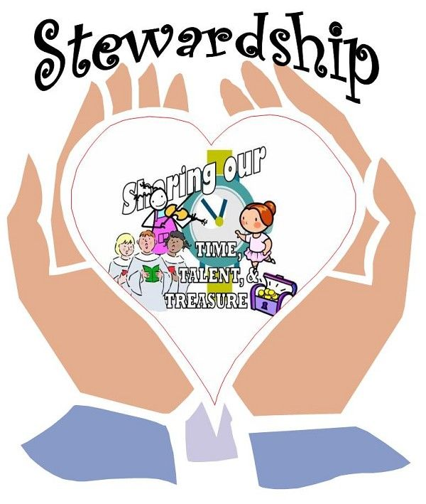 Christian stewardship clipart