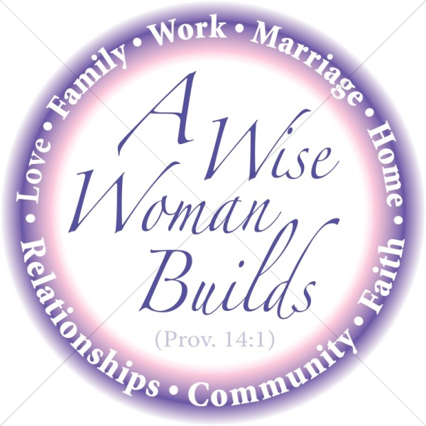 Virturous women clipart picture black and white library A Virtuous Woman Is A Good Steward picture black and white library