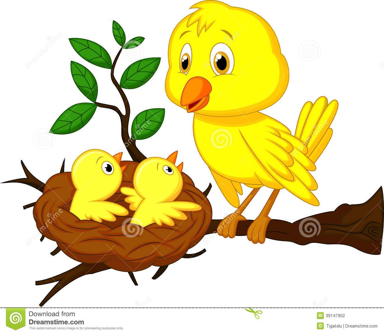 Clipart birds nest 6 » Clipart Portal clip art free download