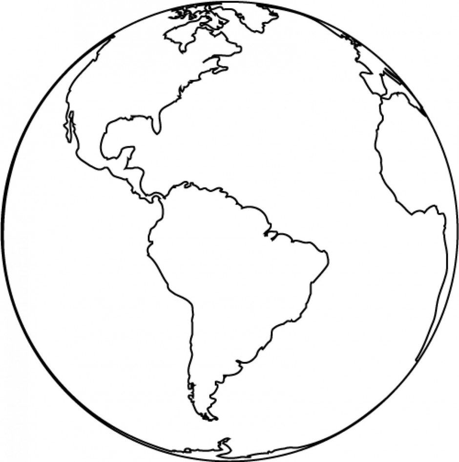 Clipart globe earth black white freeuse Earth globe clipart black and white free clipart images 2 | 4/5 ... freeuse