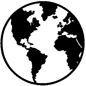 Free world globe clipart black and white clip art freeuse stock 20+ World Clipart Black And White | ClipartLook clip art freeuse stock