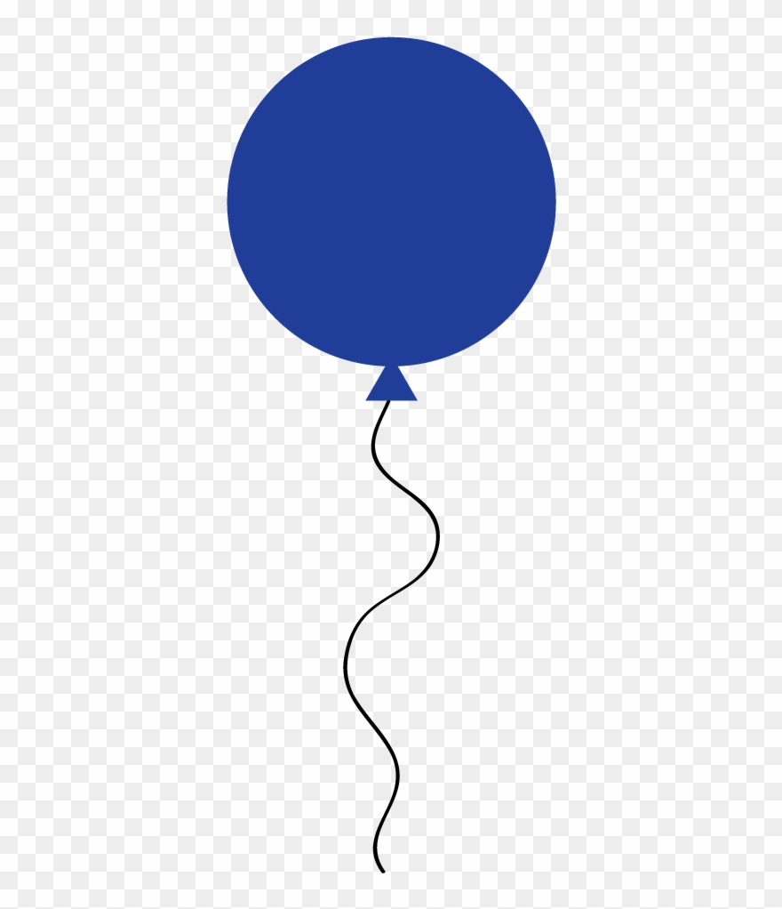 Microsoft Cliparts Balloons - Blue Balloon Clip Art - Png Download ... clip art freeuse library