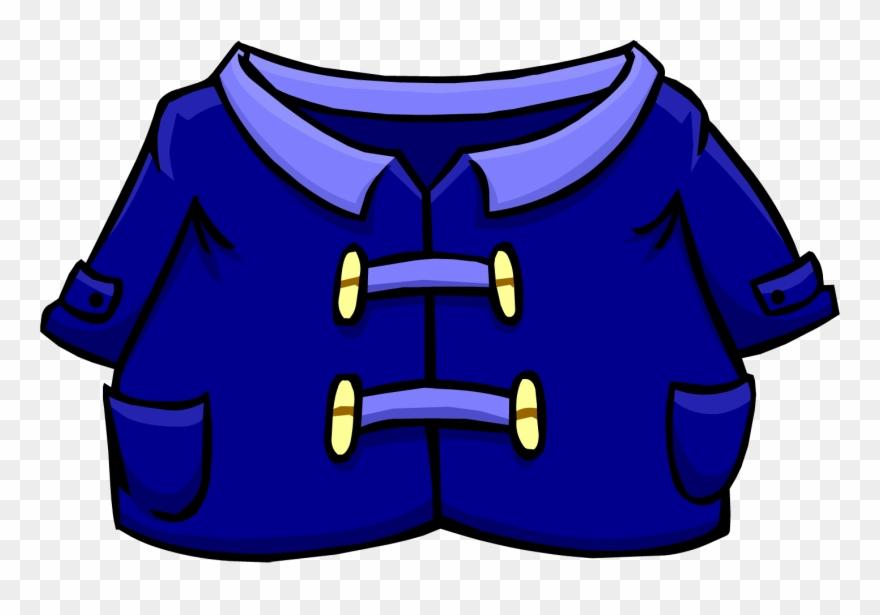 A bluerain coat clipart