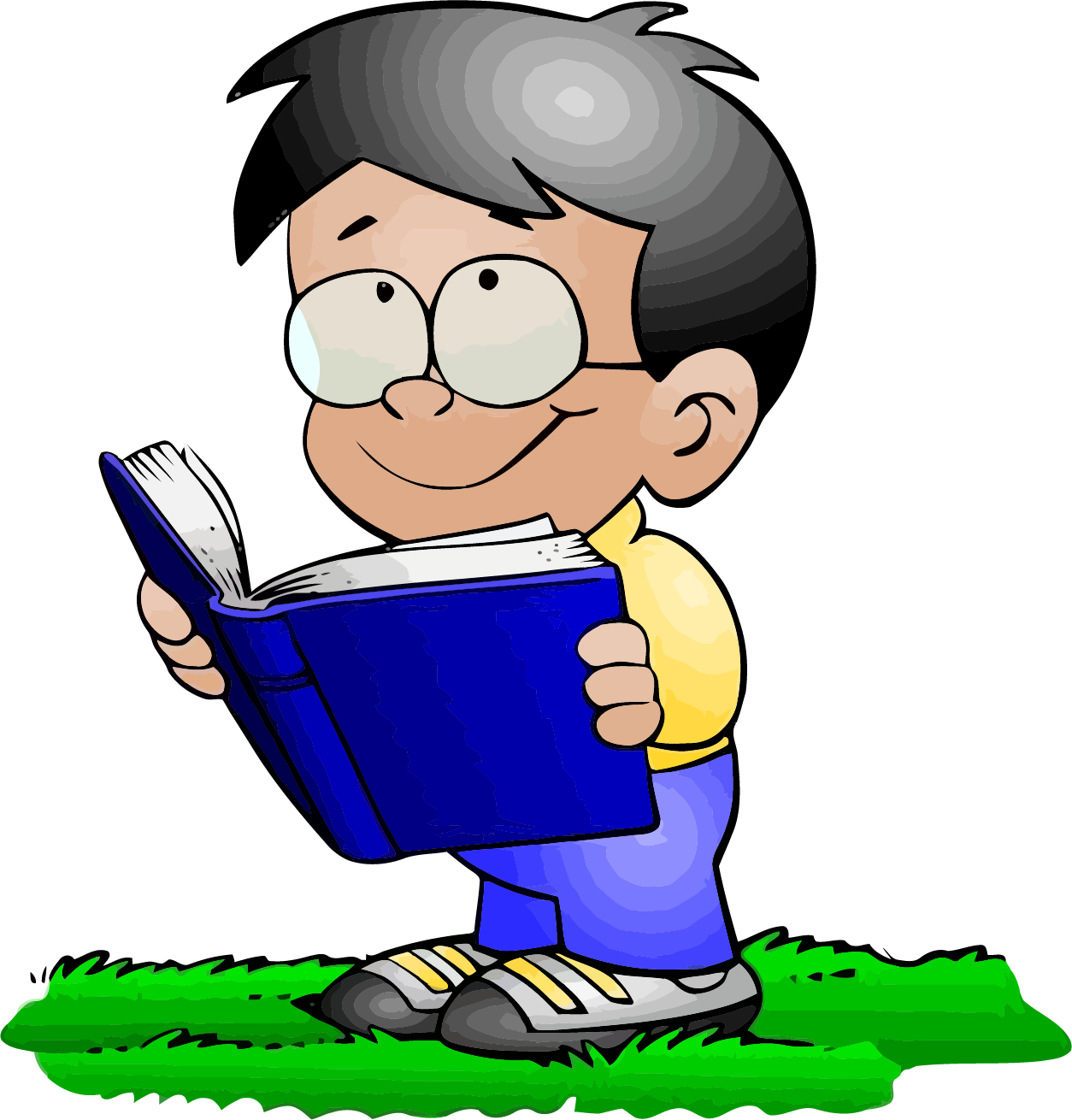 Clipart cat reading a book banner library Read A Book Boy Clipart | Clipartly.com banner library
