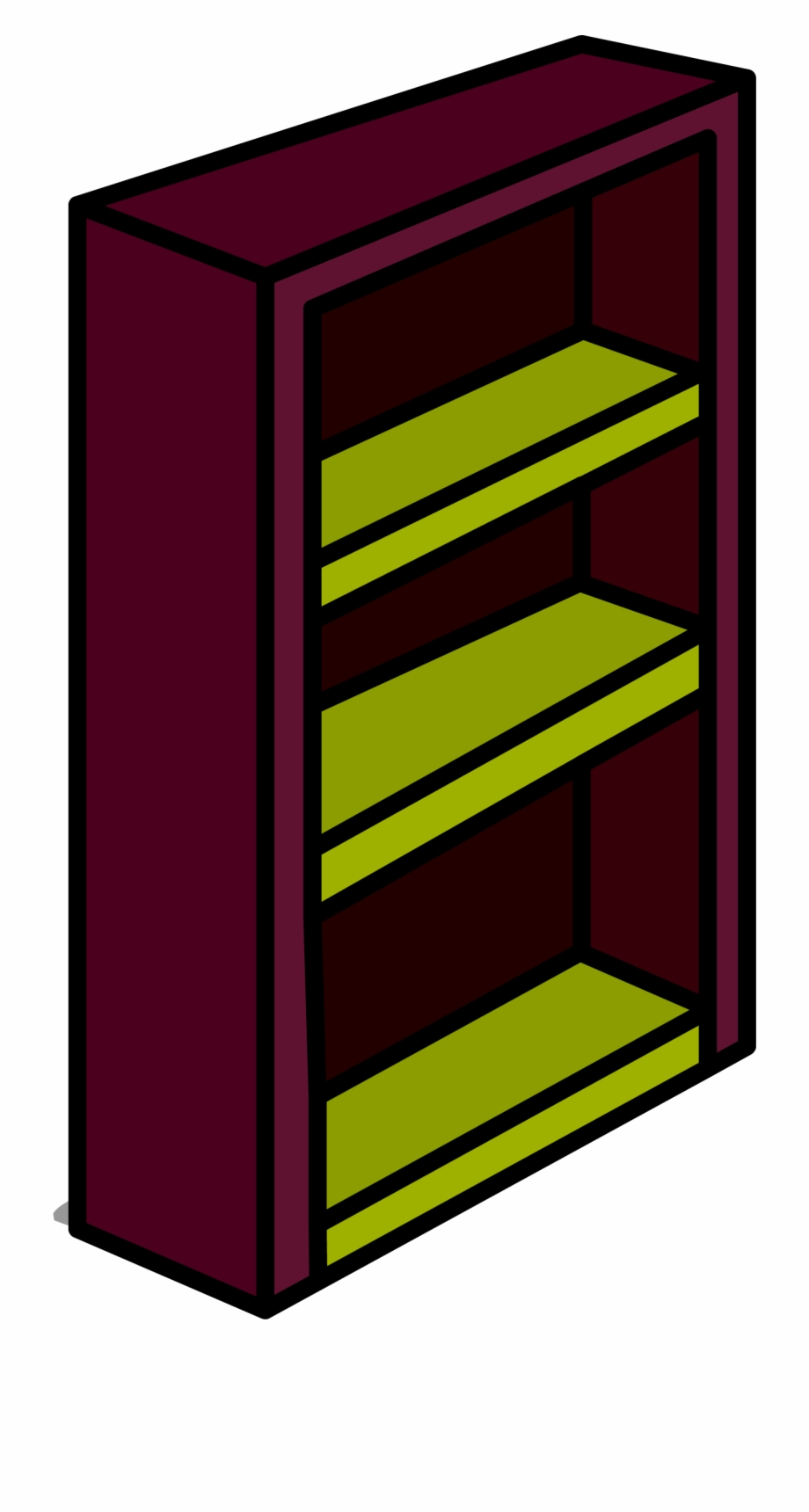 A bookcase clipart svg freeuse Bookshelf Clipart Old Bookshelf - Bookcase Free PNG Images & Clipart ... svg freeuse