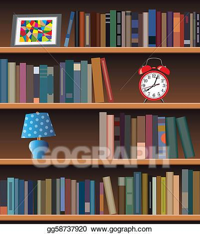 A bookcase clipart banner freeuse stock Bookcase clipart 4 » Clipart Portal banner freeuse stock