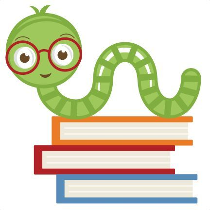 Reading worm clipart vector transparent library Bookworm Clip Reading Clipart - Free Clip Art Images | Library ... vector transparent library