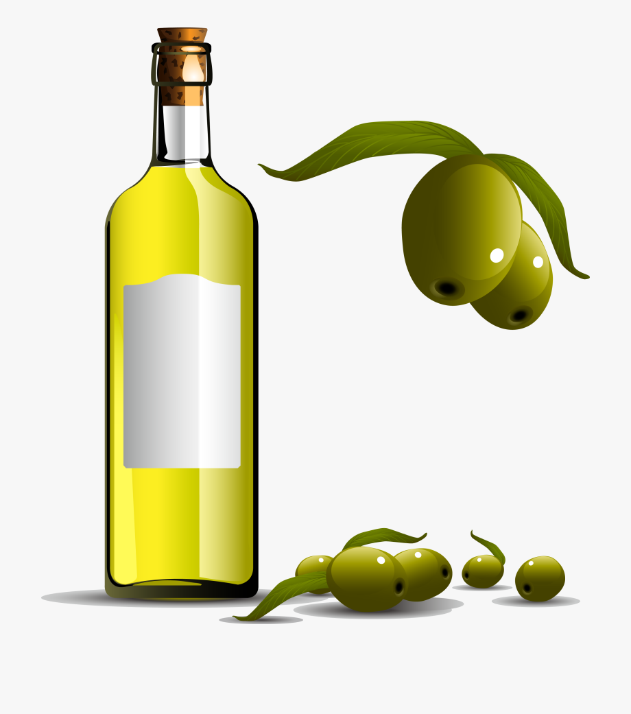 Olive oil bottle clipart jpg Olive Oil Clipart Cooking Oil Bottle - Olive Oil Bottle Vector ... jpg