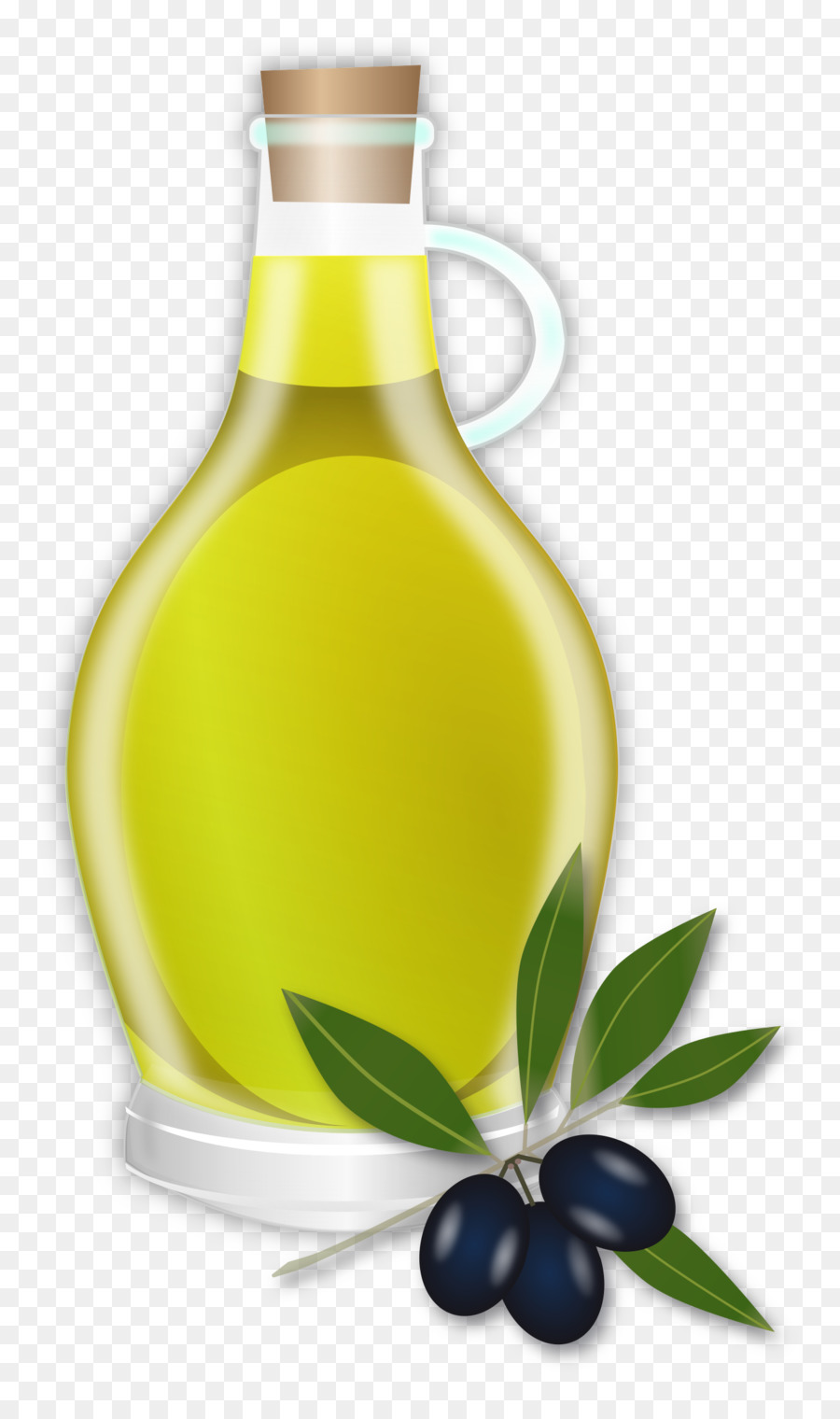 Olive oil bottle clipart black and white download Olive Oil clipart - Bottle, Food, transparent clip art black and white download