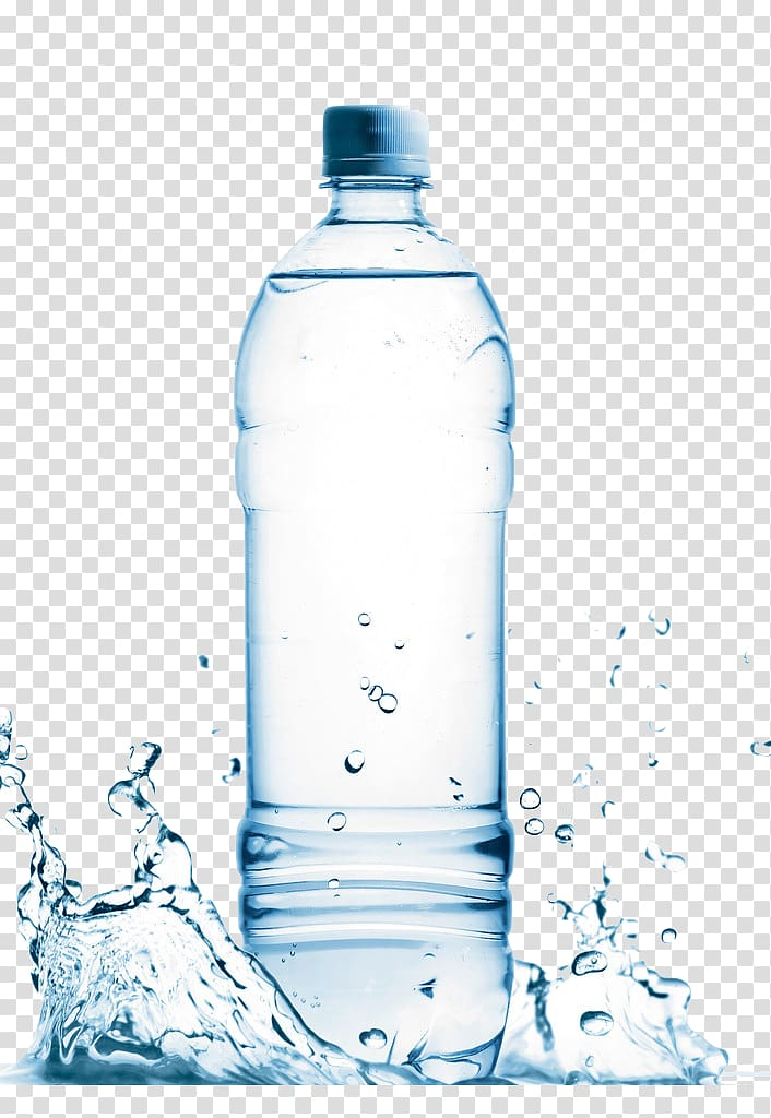 A bottle of ripple clipart vector royalty free stock Mineral water Bottled water, mineral water, filled clear plastic ... vector royalty free stock