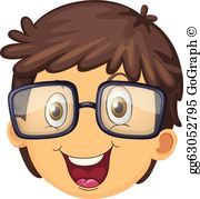 A boy face clipart png royalty free stock Boy Face Clip Art - Royalty Free - GoGraph png royalty free stock