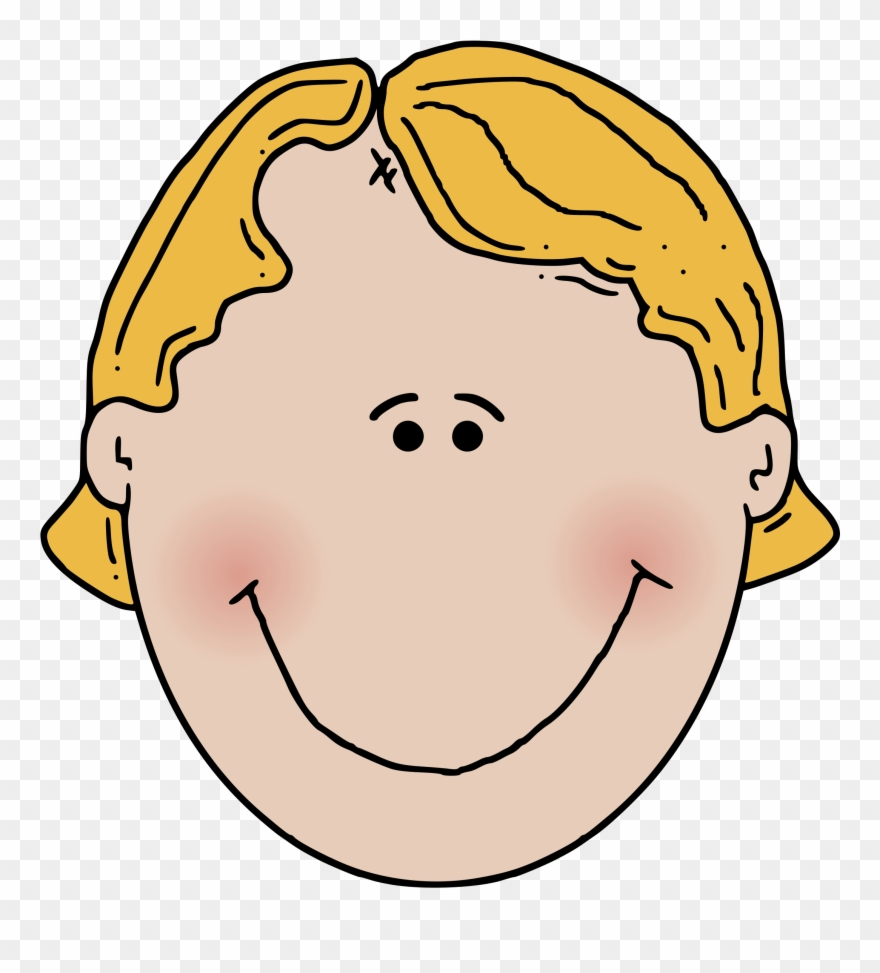 A boy face clipart jpg free library Free Vector Boyface Colour Clip Art - Boy Face Clipart Png ... jpg free library