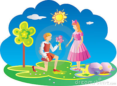 A boy giving a flower to a girl clipart clip art royalty free library A boy giving a flower to a girl clipart - ClipartFest clip art royalty free library