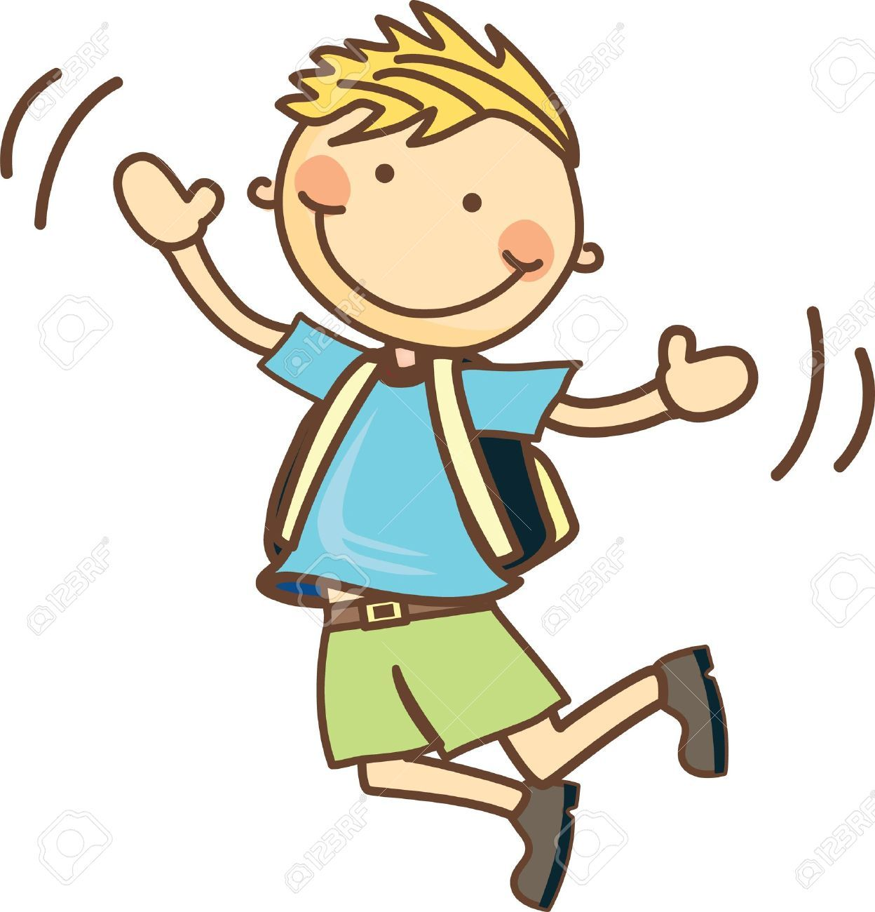 A boy jumping clipart png freeuse library Boy jumping clipart 7 » Clipart Portal png freeuse library