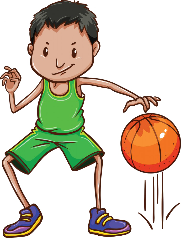 A boy playing basketball clipart picture download Jr. Dribblers picture download