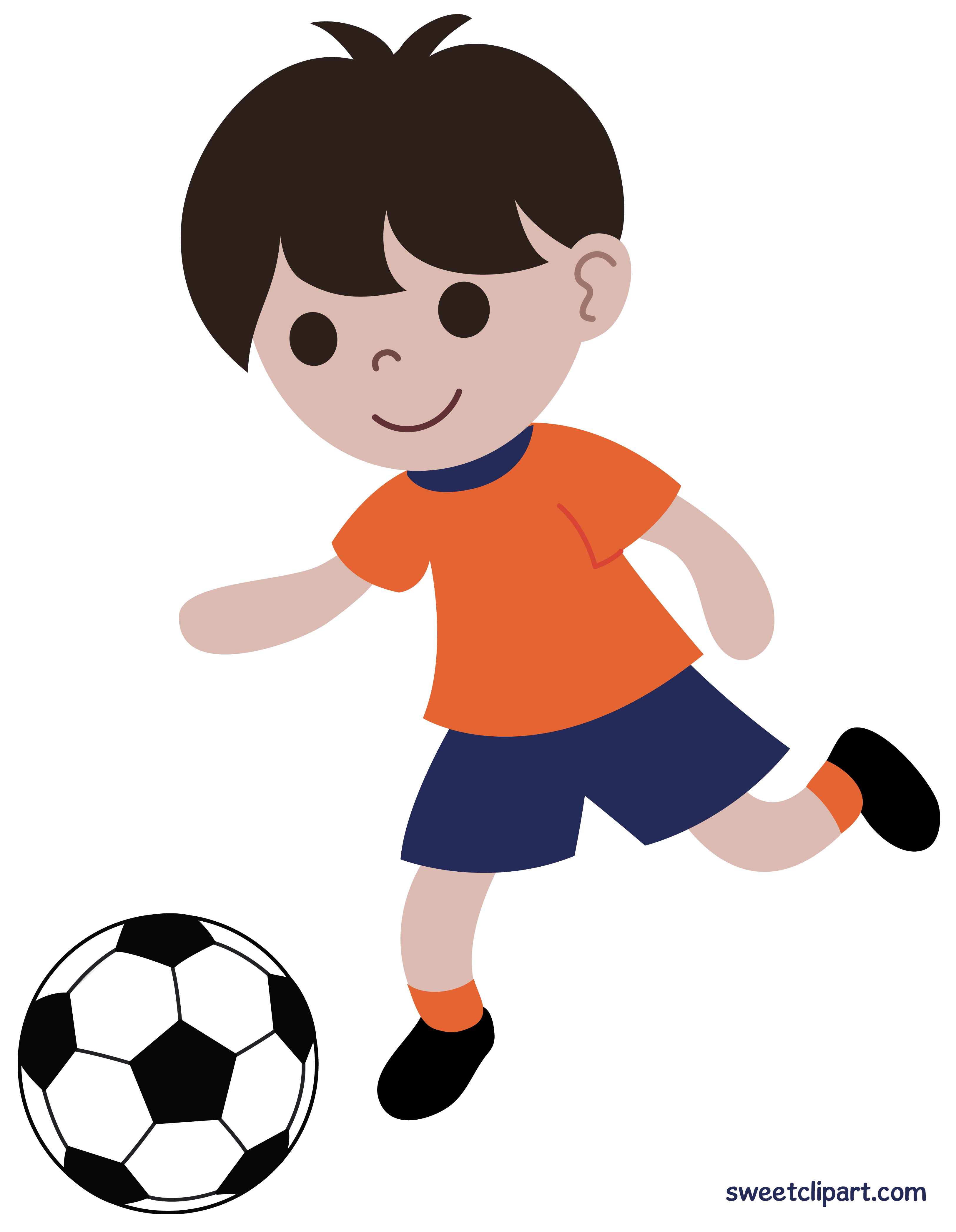 Animals playing football clipart png Girl Playing Soccer Clipart at GetDrawings.com | Free for personal ... png