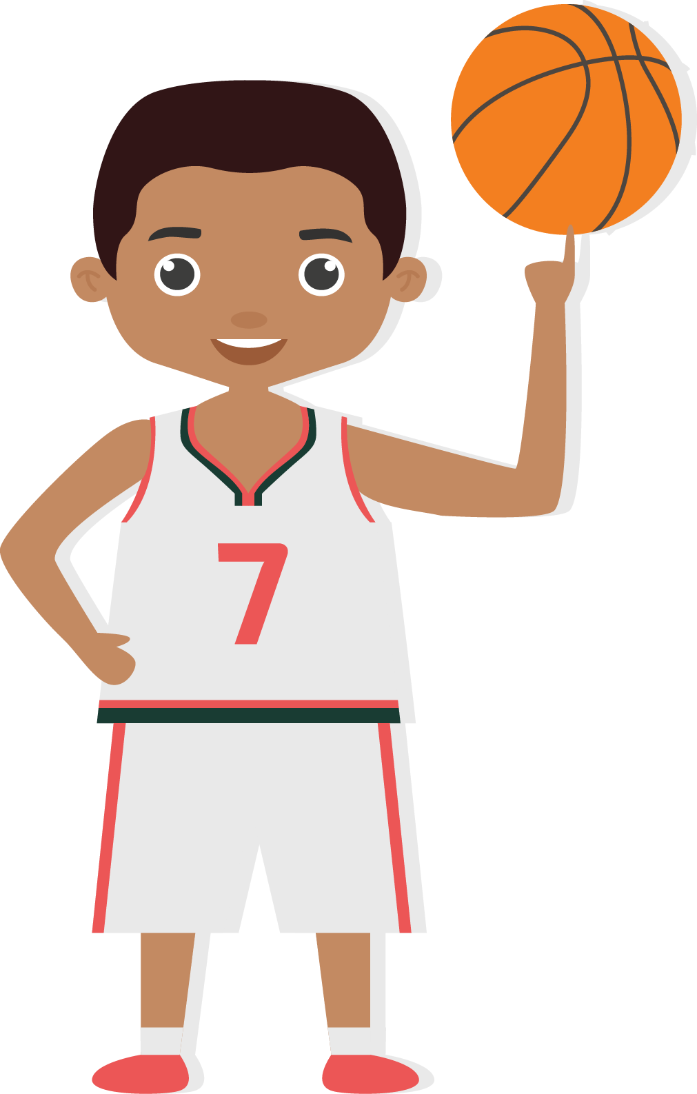 Cartoon women basketball player clipart vector transparent library Bathurst Minor Basketball Association vector transparent library