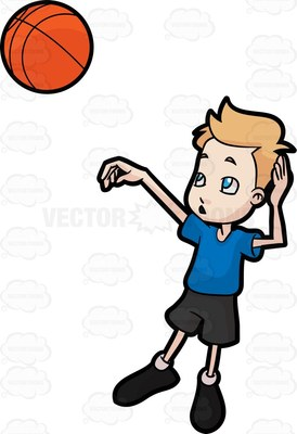 A boy throwing a ball to a boy clipart clipart royalty free stock orange ball Cartoon Clipart clipart royalty free stock