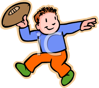 A boy throwing a ball to a boy clipart svg transparent Clipart Picture Of A Little Boy Throwing A Football svg transparent