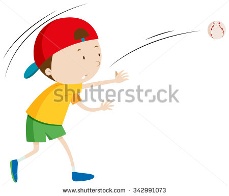 A boy throwing a ball to a boy clipart - ClipartFest svg library stock