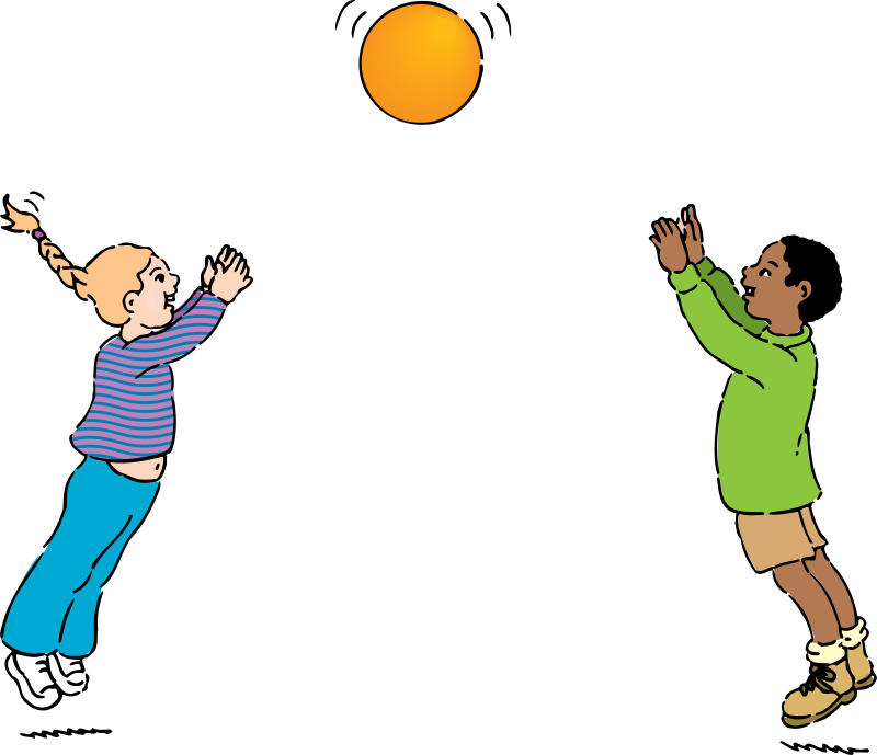 A boy throwing a ball to a boy clipart png free download Boy Throwing Ball Clipart - Clipart Kid png free download