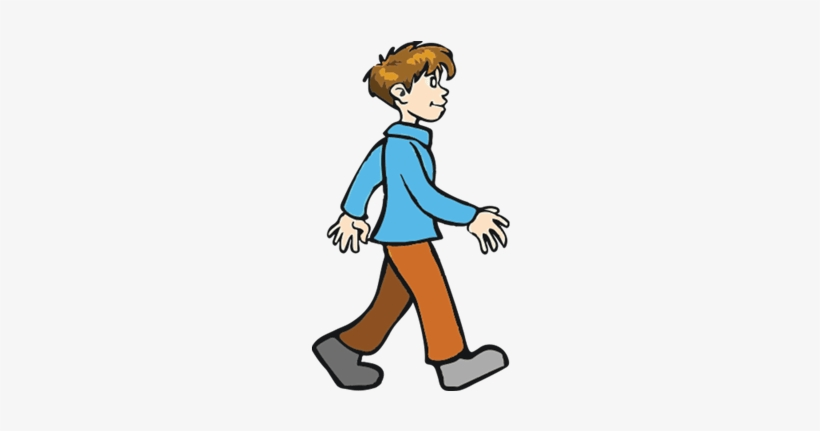 Boy walking clipart picture black and white library Little Boy Clipart Walking Away - Boy Walking Clipart Png - Free ... picture black and white library