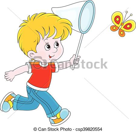 A boy with a net clipart svg free Boy And Net Clipart No Butterfly & Free Clip Art Images #26775 ... svg free
