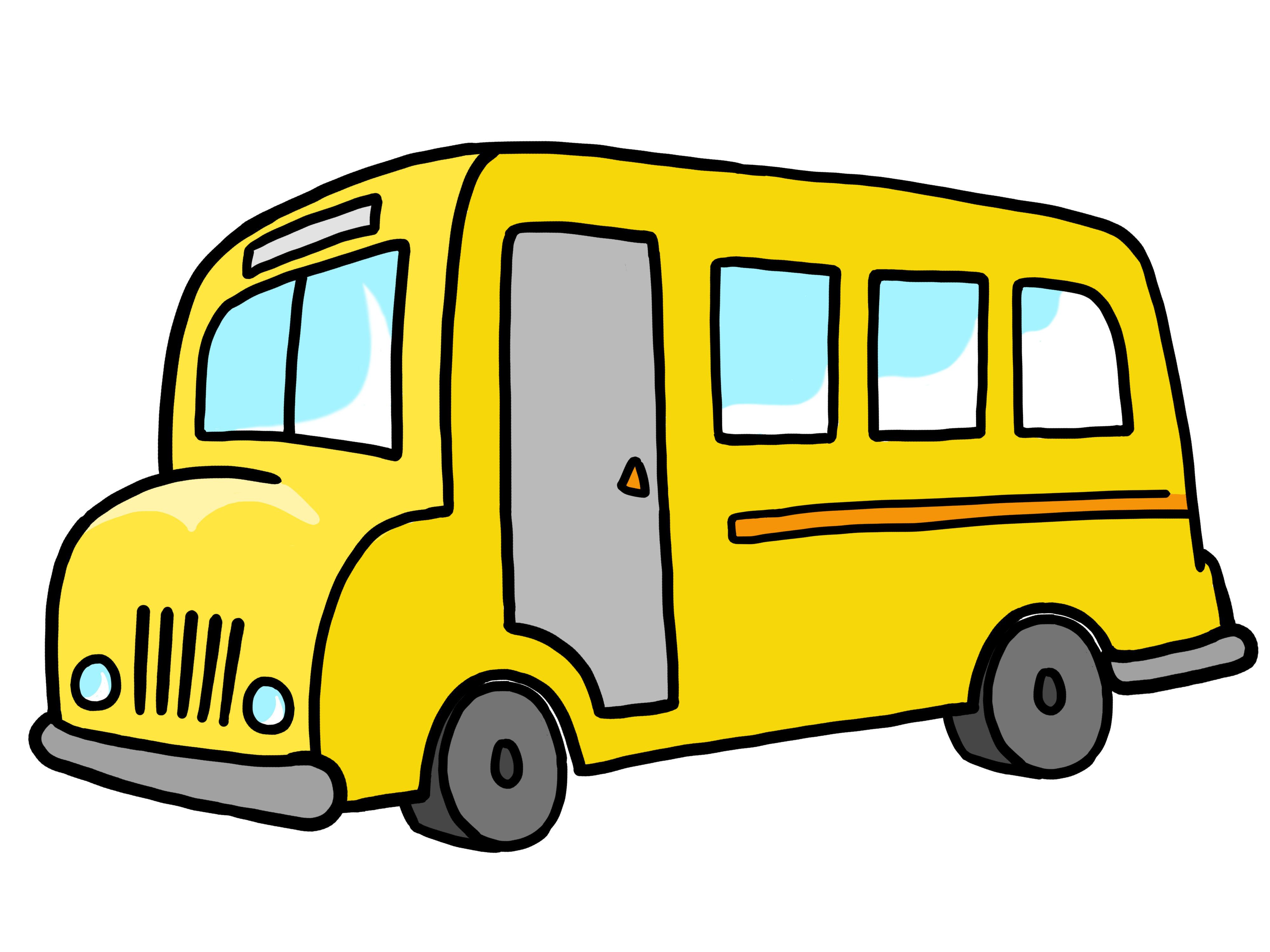 School bus under the bus clipart - WikiClipArt image library library