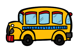 Sitting on the bus clipart svg black and white library Free School Bus Clipart | Borders, Clipart, and Fonts! Oh My ... svg black and white library