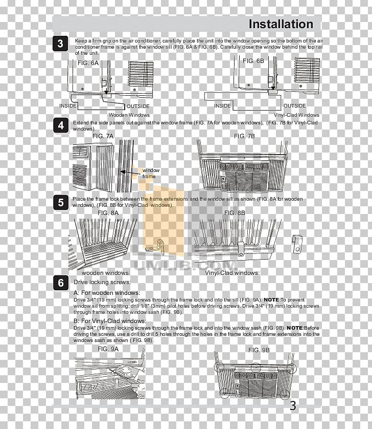 Window Friedrich Air Conditioning Frigidaire Diagram PNG, Clipart ... black and white