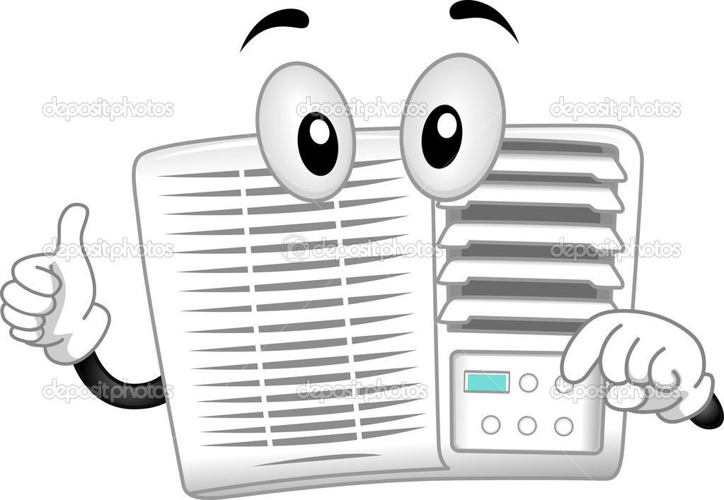 Image result for air conditioner cartoon pictures | Air Conditioners ... graphic royalty free library