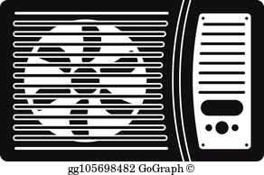 Ac Unit Clip Art - Royalty Free - GoGraph clipart royalty free library