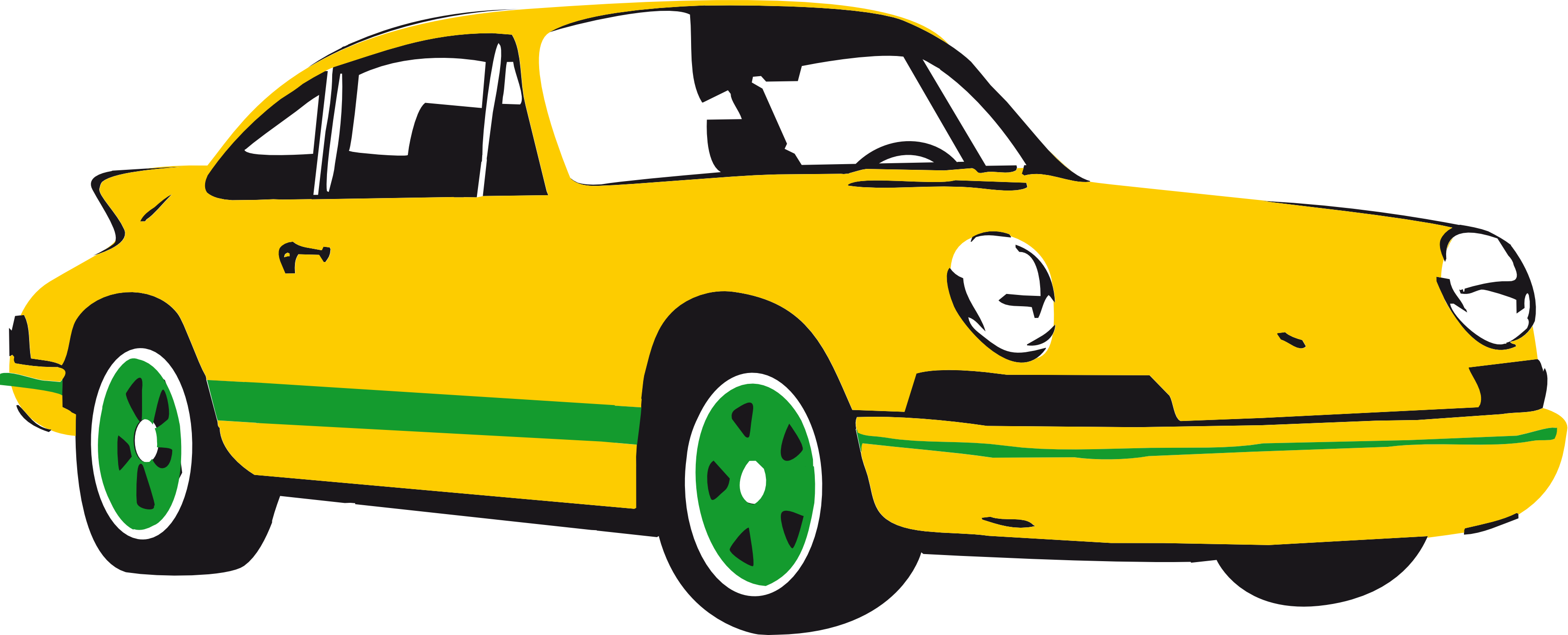 Car speeding away clipart clipart library stock Black Sports Car Clipart | Clipart Panda - Free Clipart Images clipart library stock