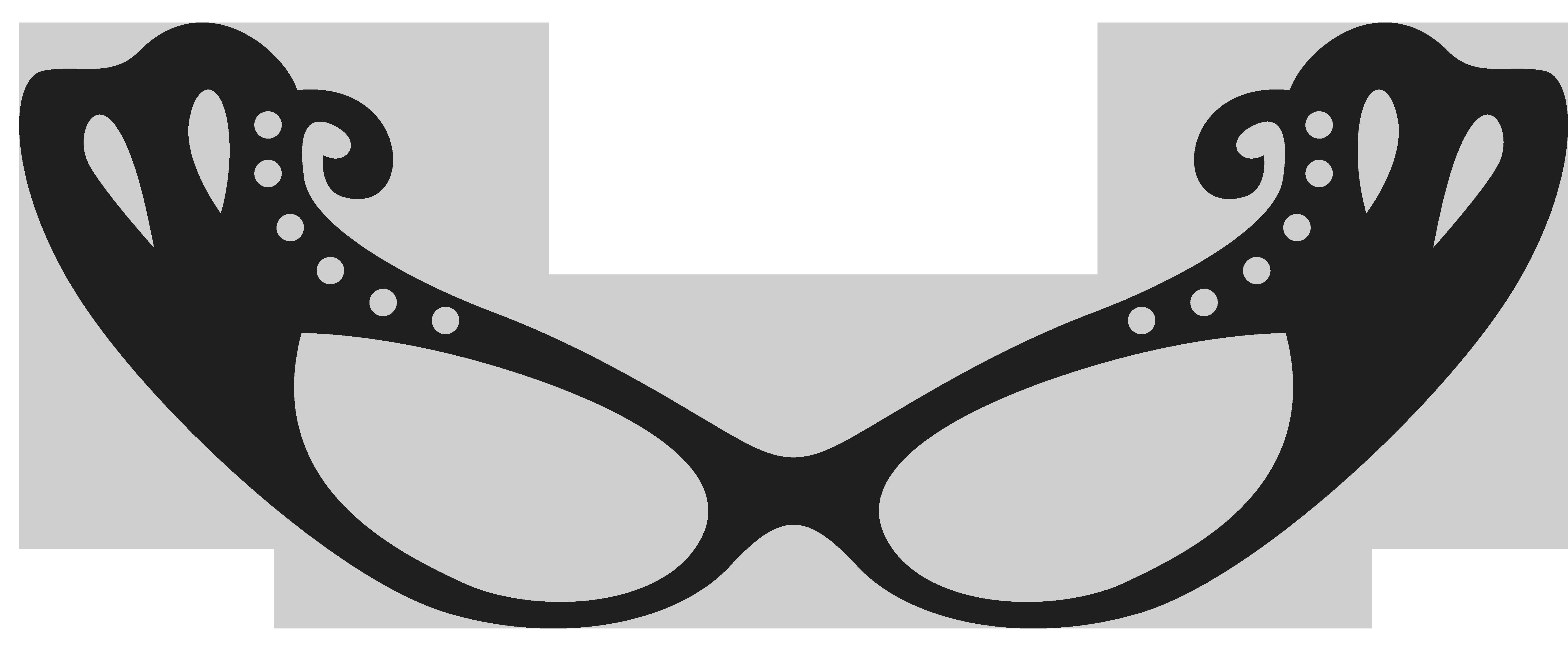 Heart glasses clipart