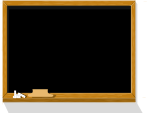 A chalk board clipart picture freeuse download Chalkboard Clip Art at Clker.com - vector clip art online, royalty ... picture freeuse download