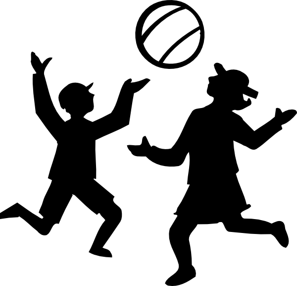 Person shooting a basketball clipart svg Kids Playing Sports Clipart | Clipart Panda - Free Clipart Images svg