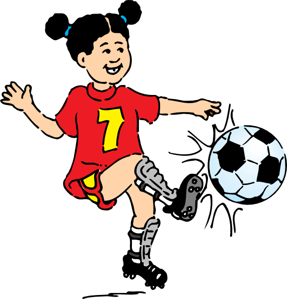 Football palyer clipart clip royalty free stock The Top 5 Best Blogs on Child Playing Football Clipart clip royalty free stock