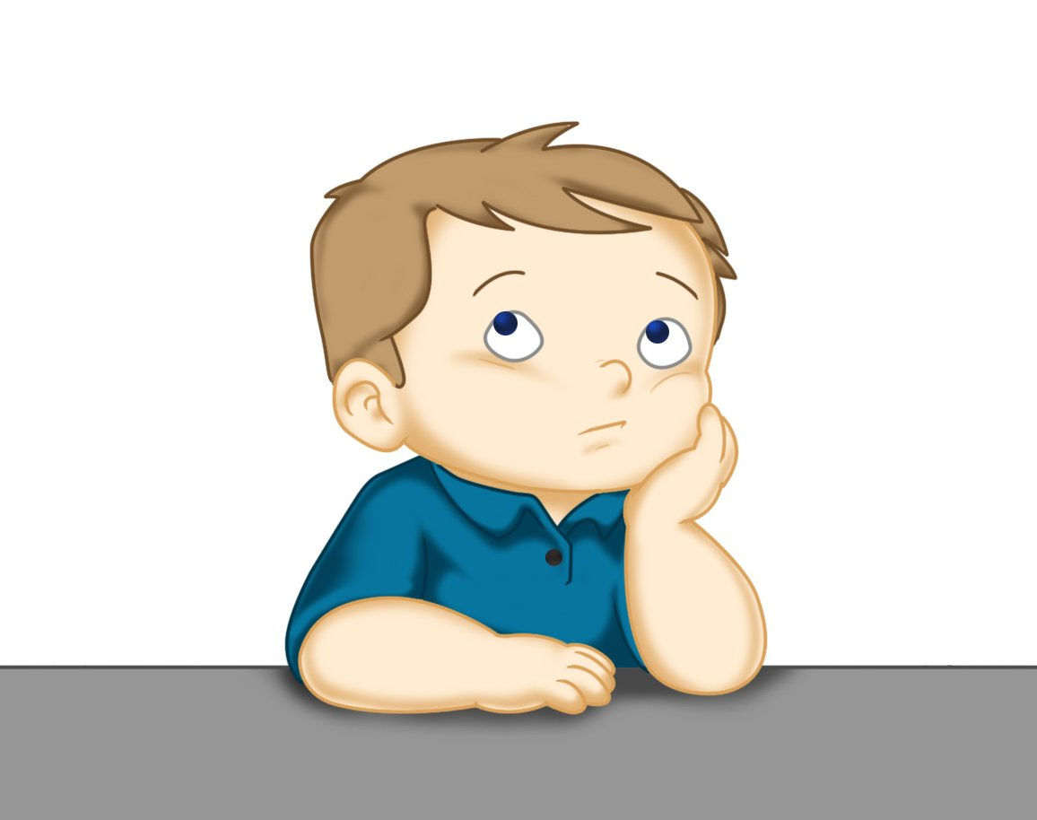 Think about it kid clipart png library Child thinking clipart 11 - WikiClipArt png library