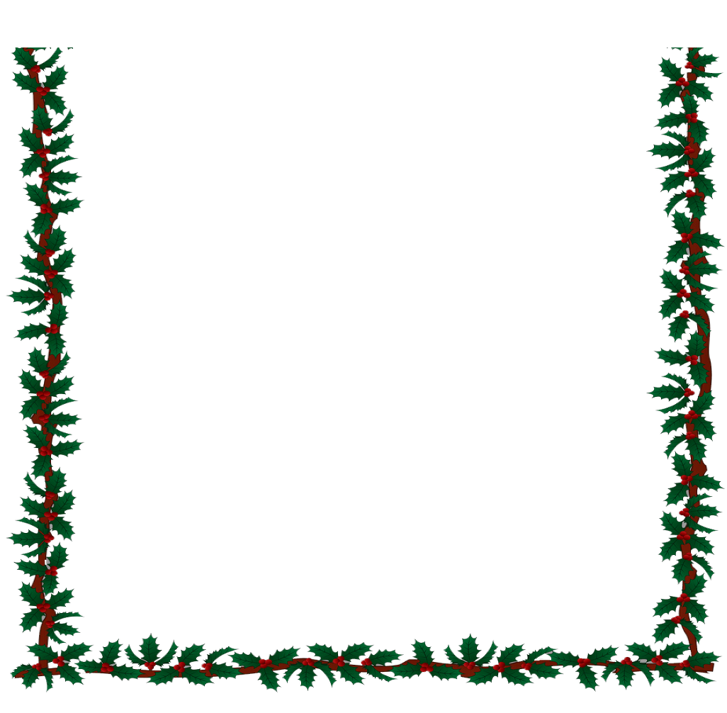 Christmas border clipart black and white banner transparent stock A Christmas Carol by Candlelight banner transparent stock