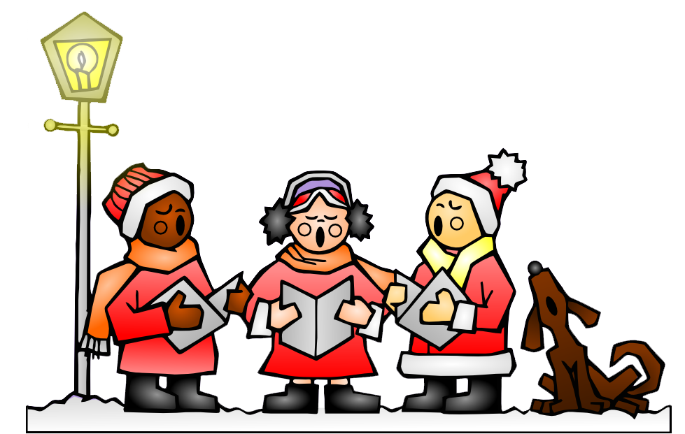 Christmas night clipart png stock Carol Singing in aid of Night Shelter | The Westcombe Society png stock