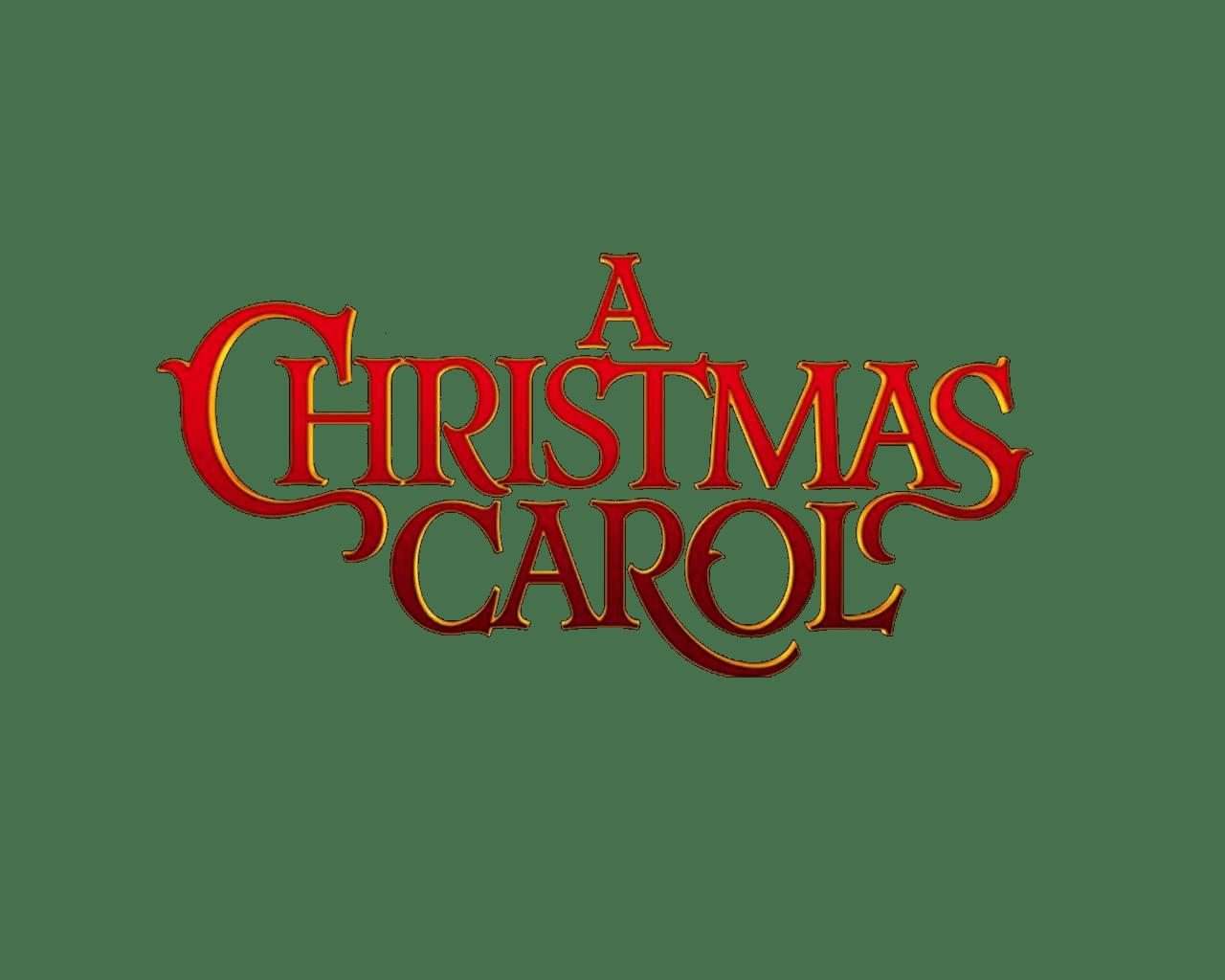 A christmas carol clipart image transparent stock Christmas Carol Logo transparent PNG - StickPNG image transparent stock