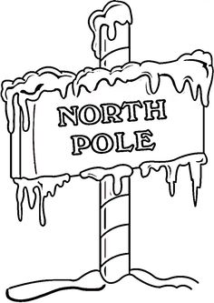 A christmas story clipart pole black and white png download Free North Pole Clip Art, Download Free Clip Art, Free Clip Art on ... png download