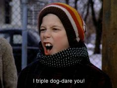 A christmas story i triple dog dare you clipart banner download 275 Best \