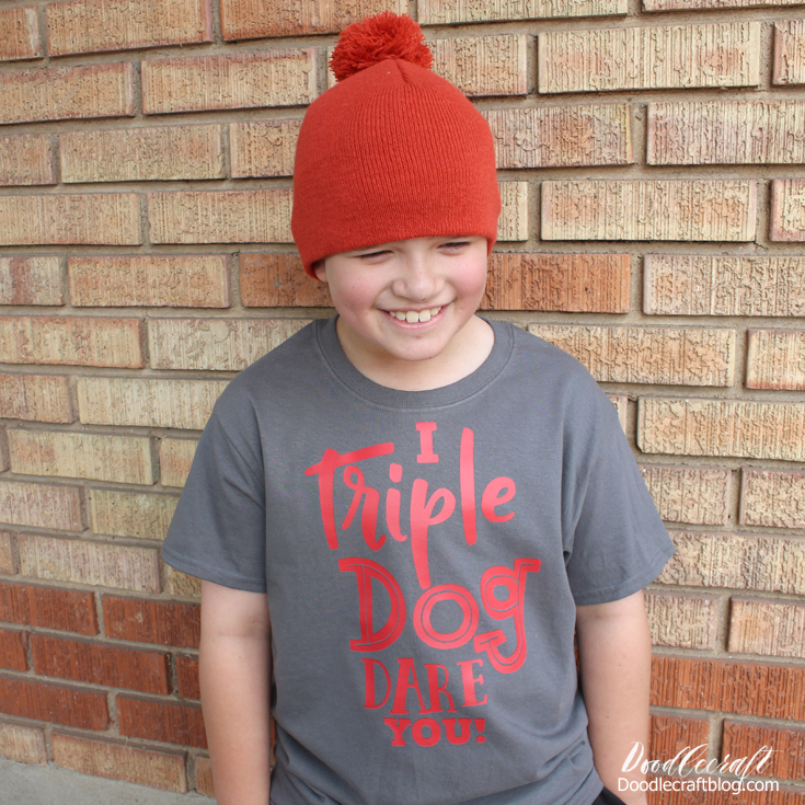 A Christmas Story Inspired: Triple Dog Dare Shirt with Cricut ... png free