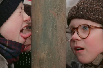 A christmas story i triple dog dare you clipart banner royalty free stock A Christmas Story banner royalty free stock