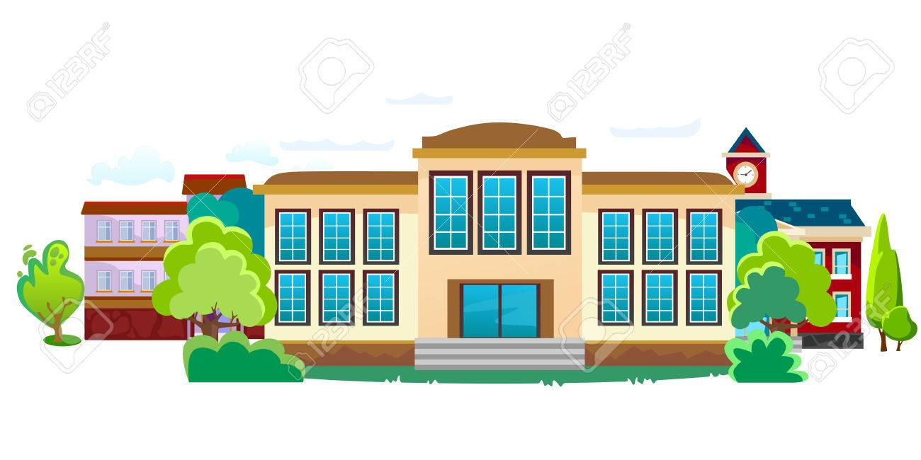 A city street with buildings background cartoon clipart svg free library City Street Clipart | Free download best City Street Clipart on ... svg free library